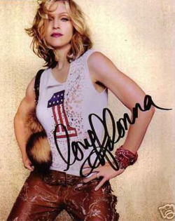 madonna-signed