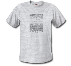 Word Cloud T-Shirt